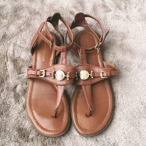 Tommy Hilfiger Lilo Brown Sandals
